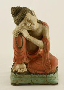 BUDDHA THAILANDESE INGINOCCHIATO